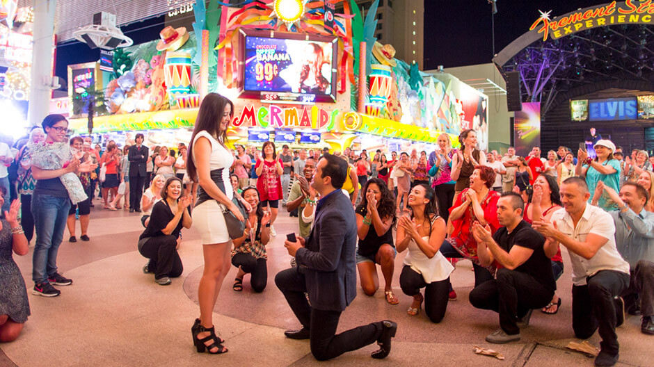 Nyx Entertainment Events Get Engaged Flash Mob Style Nyx