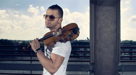 Rockstar Violinist