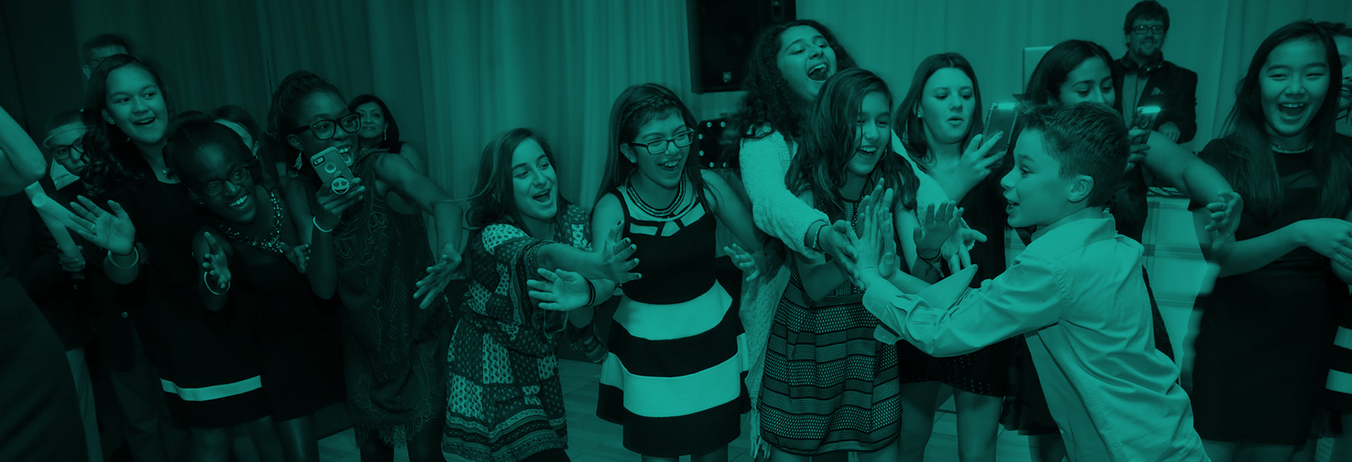 Bar & Bat Mitzvah section header image.