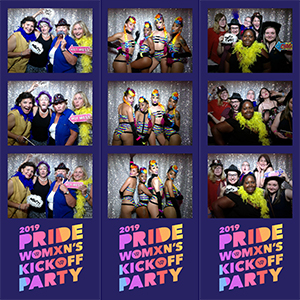 2019 Pride Women's Kickoff Party Photobooth