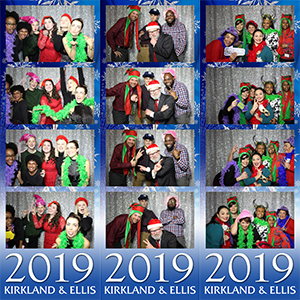 Kirkland & Ellis Holiday Photobooth