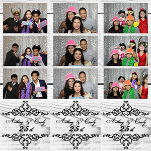Anthony & Candy 25th Anniversary Photobooth