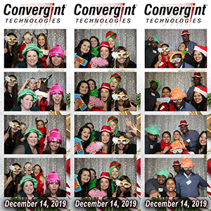 Convergint Holiday Photobooth