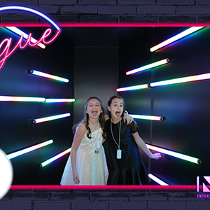 Dev's Bat Mitzvah Vogue Booth