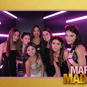 Maddie's Bat Mitzvah Vogue Booth