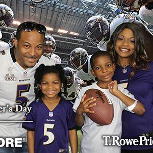 Baltimore Ravens Family Movie Night Greenscreen