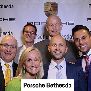 Porsche Bethesda Grand Opening Photobooth